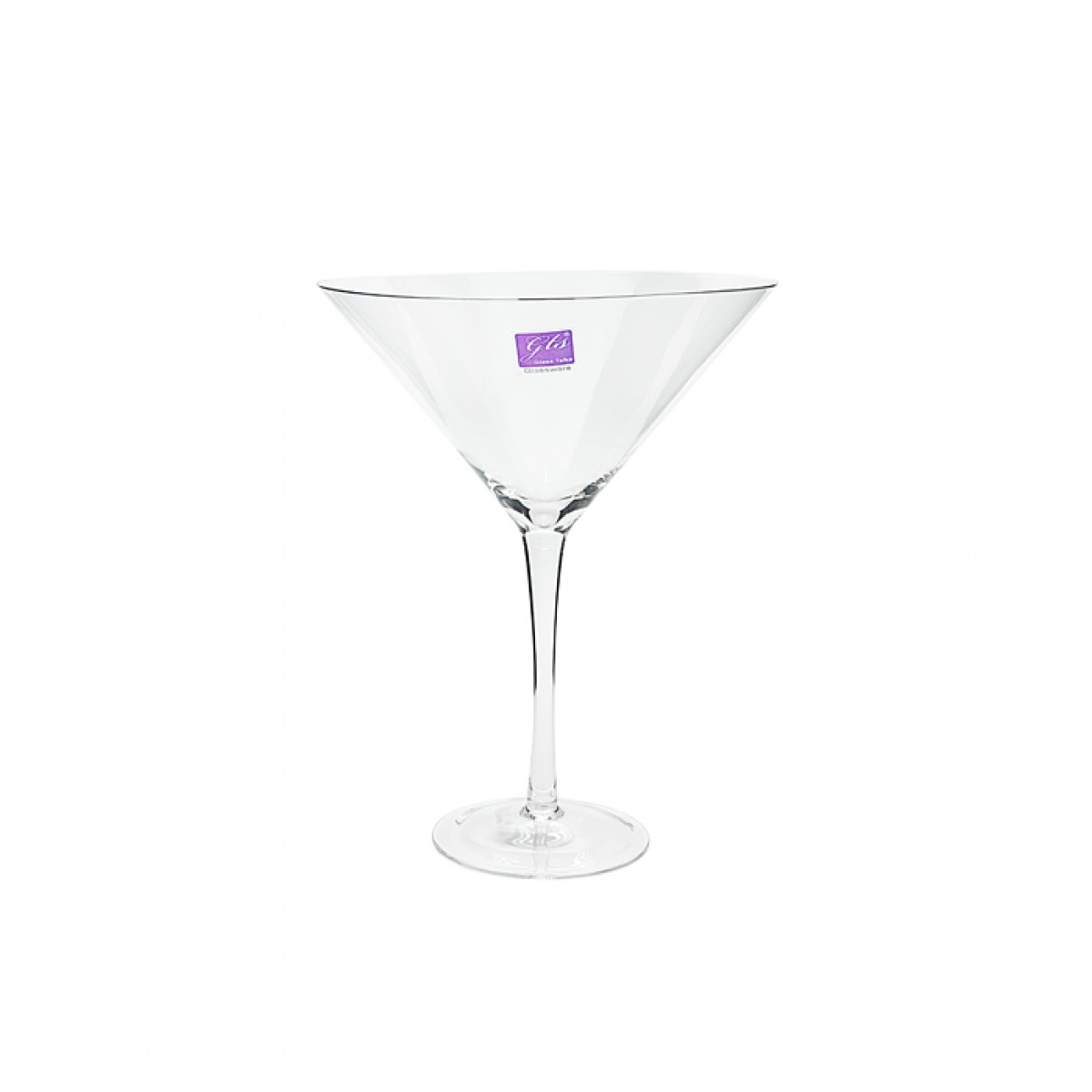 Glass Martini Vase 12 12