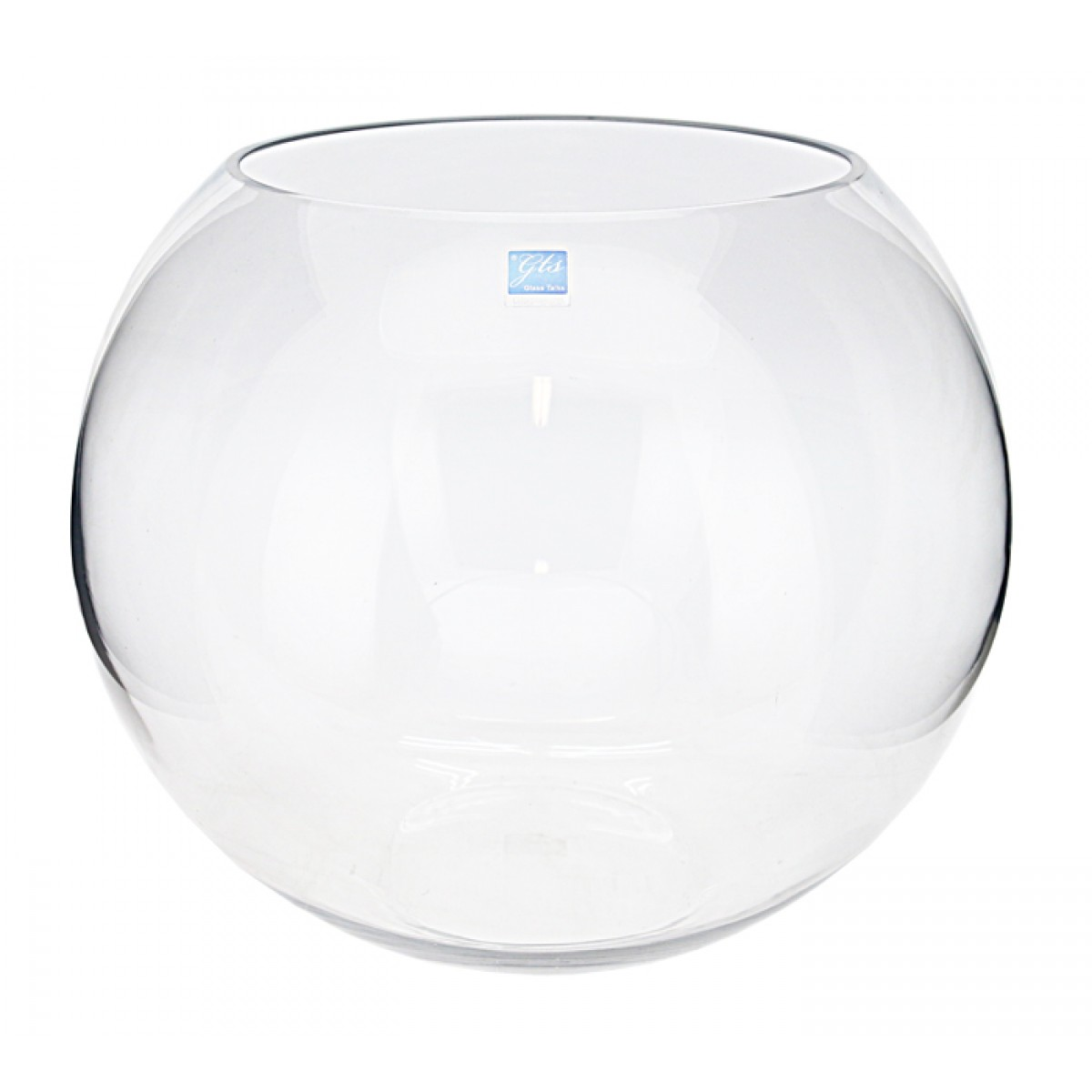 Glass fish bowl d40cm large clear 1 1 vases homeware for Glass fish bowl