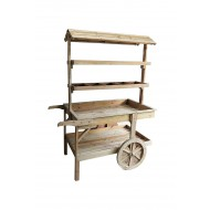 Wooden Cart 120x65x159cm (1/1)