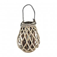 Lantern Willow 25x30cm Natural Col(6/6)