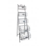 BasketStand5-TierMetal-43x70x152cmH(2/2)