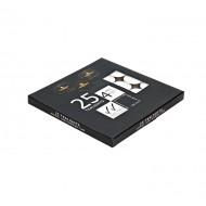 T-lite 4Hrs 25pcs/Pk In Black Box(48/48)