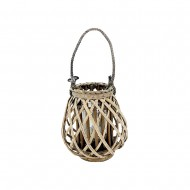 Lantern Willow 23x25cm Natural Col(6/6)