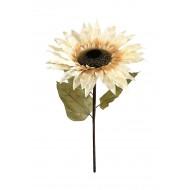 FlowerArtifiSunflower38x100-OffWht(6/24)