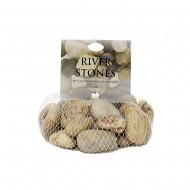 River Stone in Net 1Kg - White (15/15)