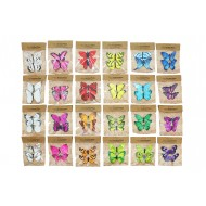 Butterfly Artificial 9cm - Mixed (48/48)