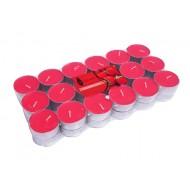 CandleTlite4Hr36/PkStrawberry-Red(16/32)