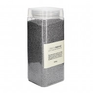 Sand Deco in Bottle 800g - Grey (12/12)