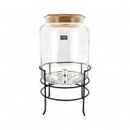 Glass Drink Dispenser 27x21x29cm (1/4)