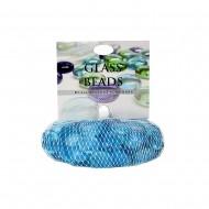 Glass Beads Blue -500g/net (24/24)