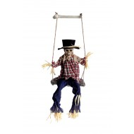 Animated Scarecrow on Swing (2/2)
