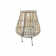 Lantern Willow w/Metal Legs 29x42cm(2/2)