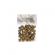 Pearls in PVC Bag 14mm 50g -Gold (12/72)