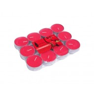 CandleTlite4Hr12/PkStrawberry-Red(24/72)