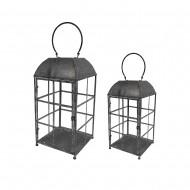 Lantern Metal S/2 27x55cmH (1/1)