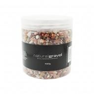 Gravel Natural 3-5mm 1.5KG/Jar-Red (6/6)