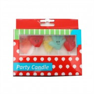 Candle With 5pc Hand Deco In Box(36/144)