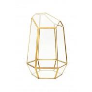 GlassTerrariumTinRimPolygonDesign-M(2/4)