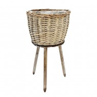 Pot Stand on Legs Willow 30x58cm (6/6)