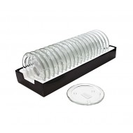 Glass PillarHolder D10.8cm Rd-Clr(40/80)