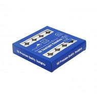 CandleT-lite6Hrs50pcs/Pk Blue Box(24/24)