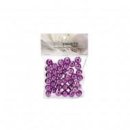 Pearls in PVC Bag 14mm 50g-Purple(12/72)